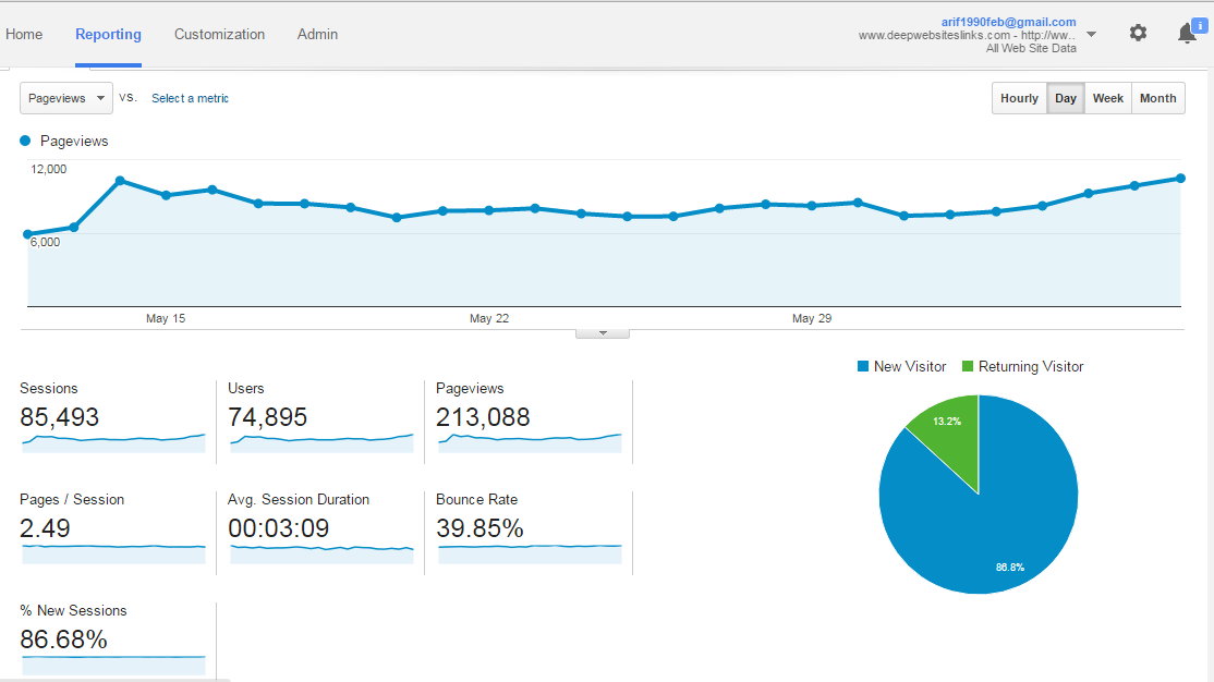 Deep Web Analytic Report
