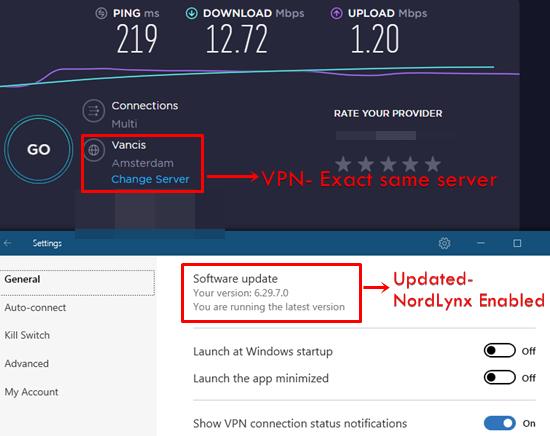 NordVPN NordLynx Update 2020