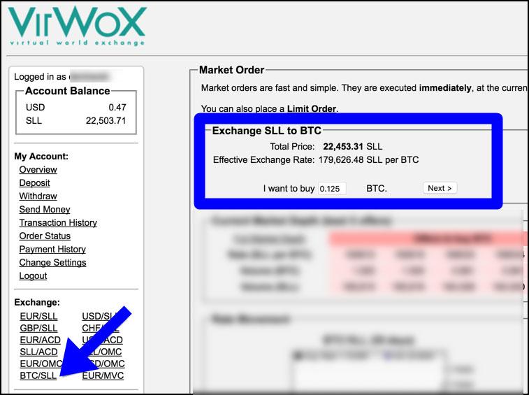Comprare bitcoin virwox seconds