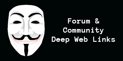 deep web forums links