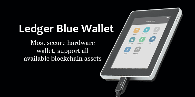 Ledger Blue Wallet Review