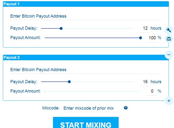 FoxMixer Bitcoin Tumbler