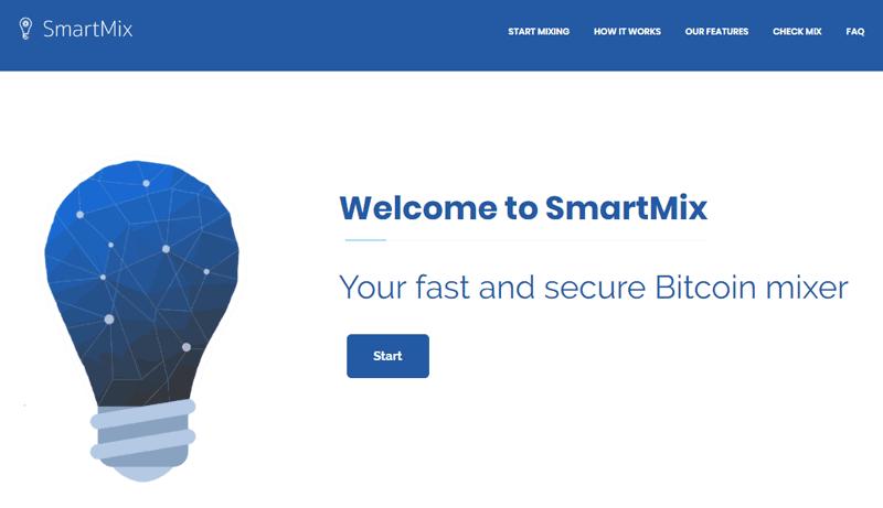 Smartmix bitcoin mixing service