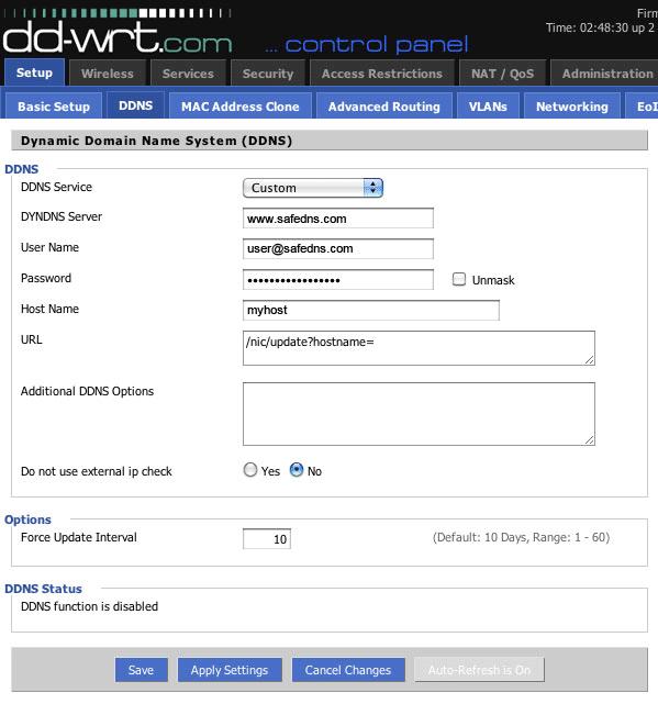 DD-WRT vs  Tomato firmware