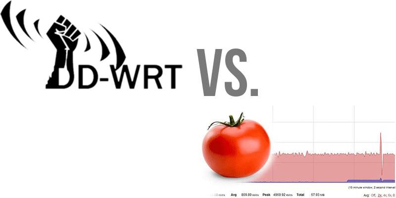 DD-WRT vs. Tomato firmware