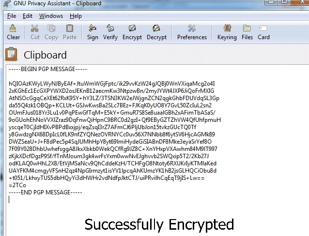PGP Guide - How to use PGP? Encrypt Decrypt Message by GPG4WIN Kleopatra