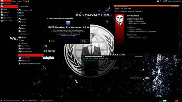 Live Hacking OS