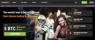 CloudBet Bitcoin Casino