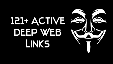 Active deep web links