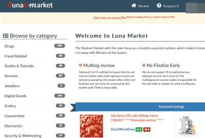 Luna Marketplace