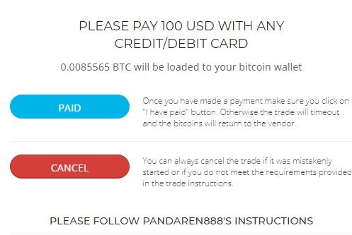 Buy bitcoins with Credit Card