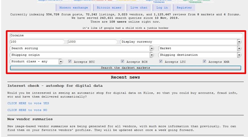 How to find dark web sites